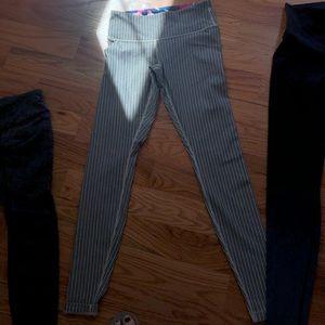 High waist pant - striped